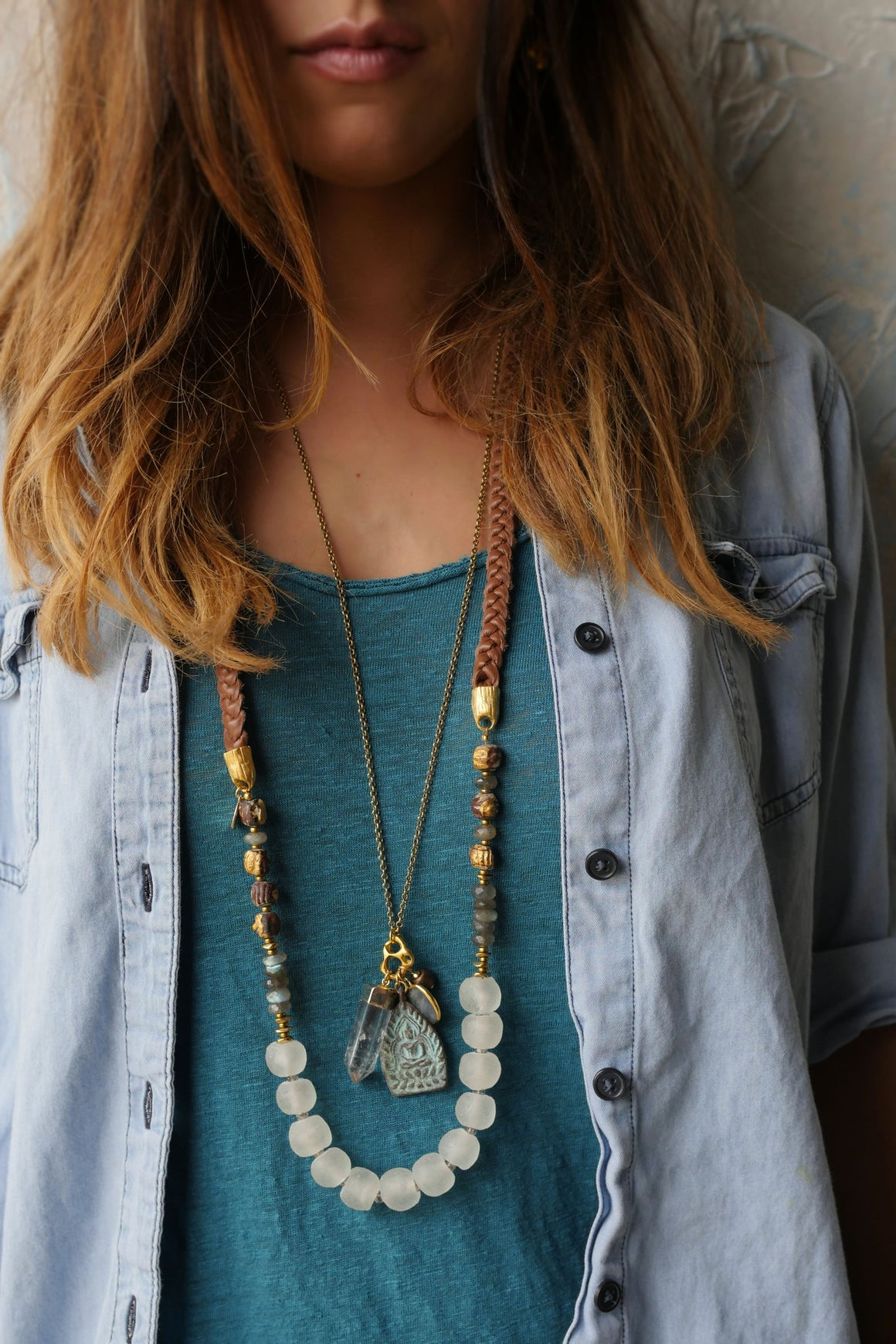 Balanced Charm Necklace