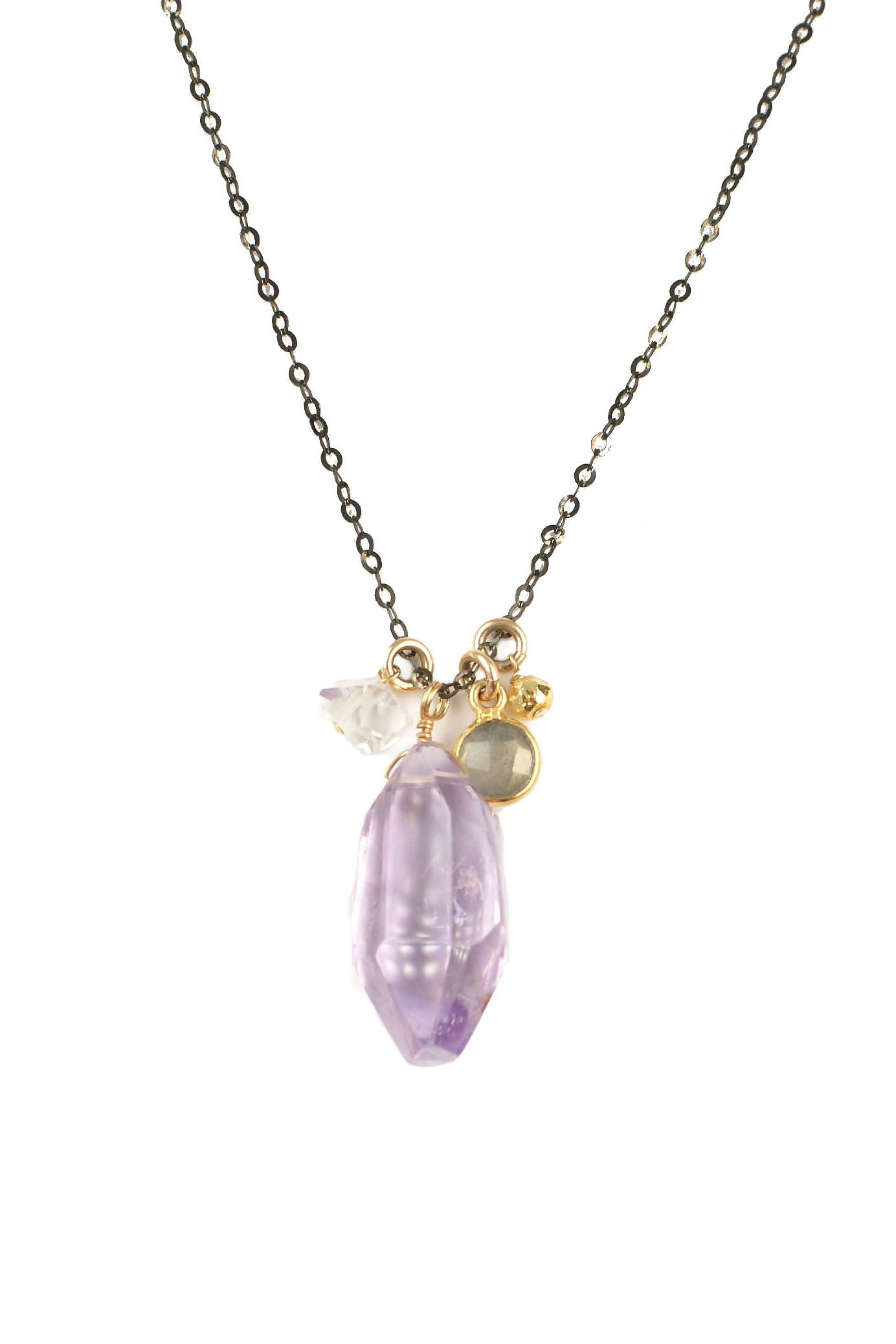 Ametrine Charm Necklace