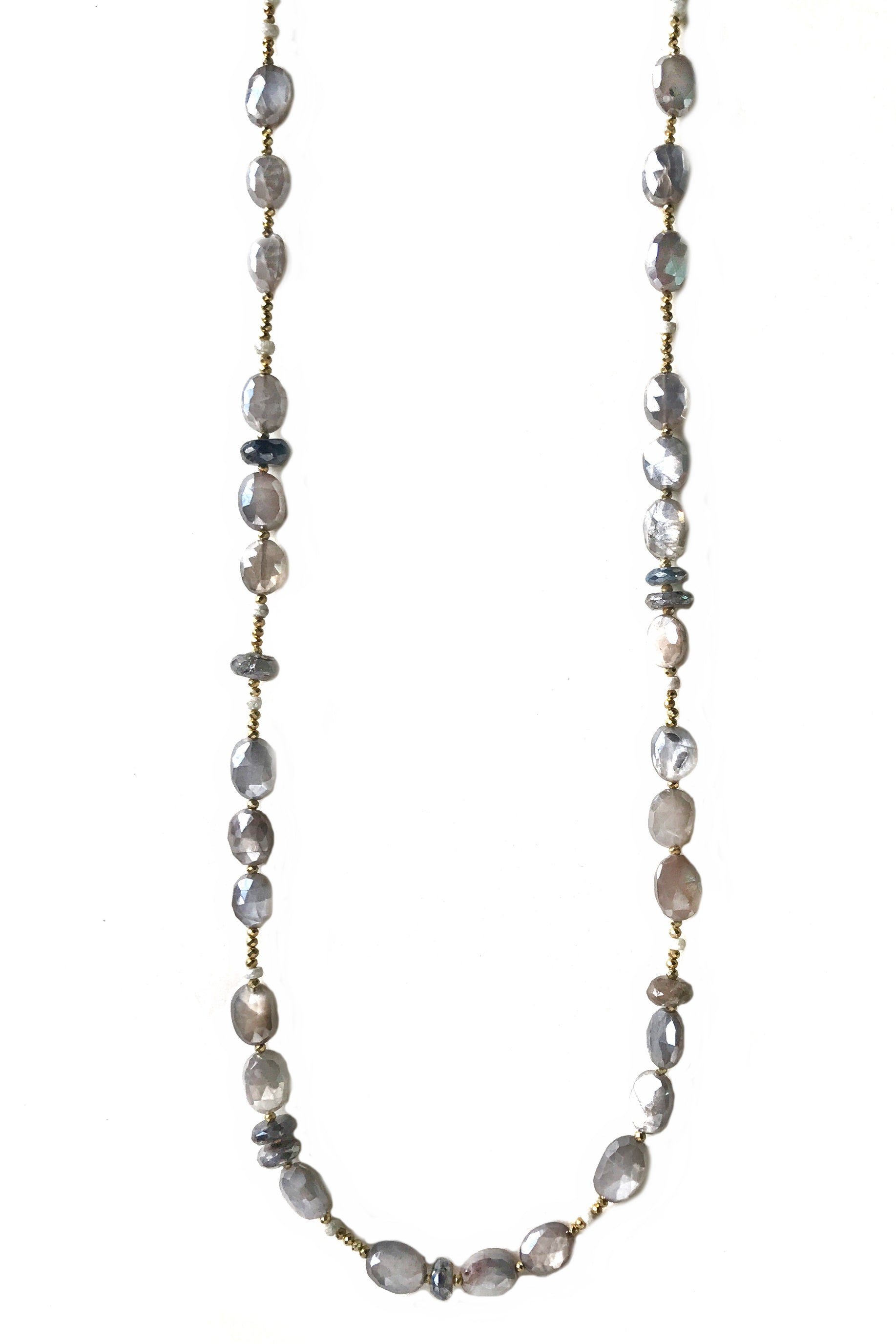 Fulfilled Grey Moonstone Necklace