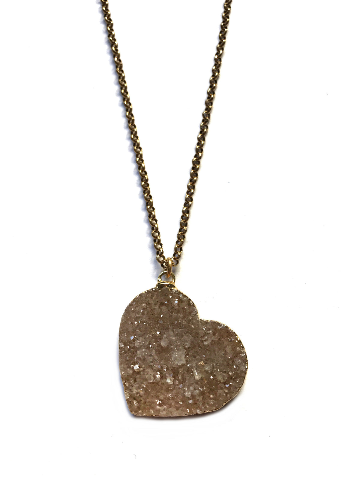 Big & Bold Heart Shine Necklace