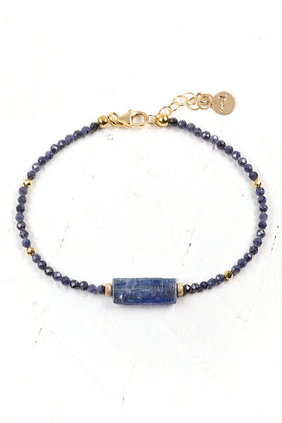 Kyanite Slice Bracelet