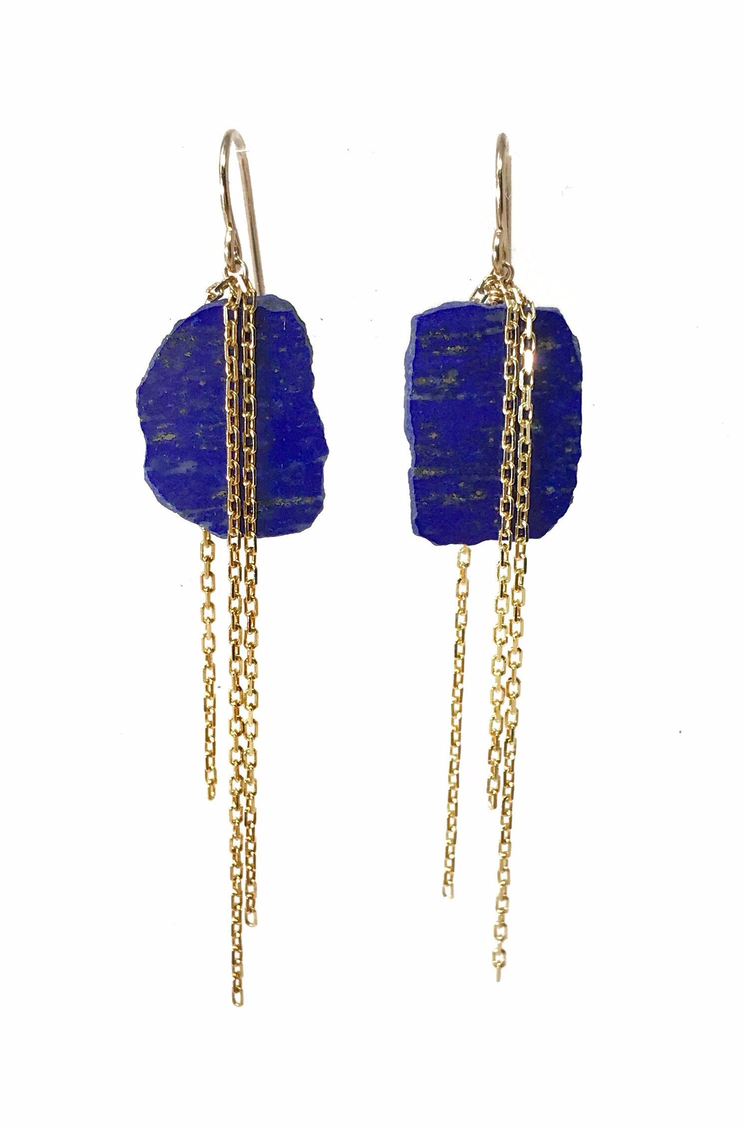 earrings index lapis