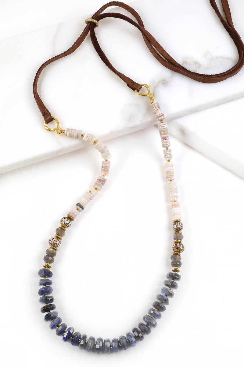 Kyanite Opal Necklace