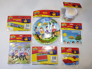 The Wiggles Party Supplies Tableware for 8 Guests