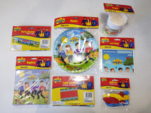 Load image into Gallery viewer, The Wiggles Party Supplies Tableware for 16 Guests