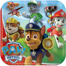 Load image into Gallery viewer, Paw Patrol Party Supplies Tableware for 8 Guests