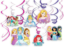 Load image into Gallery viewer, Disney Princess Swirl Decorations