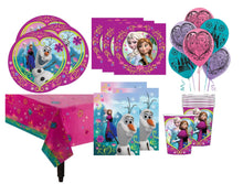 Load image into Gallery viewer, Frozen Party Supplies Tableware for 8 Guests
