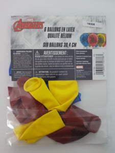Avengers Balloons - pack of 6