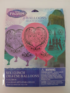 Disney Frozen Balloons - pack of 6