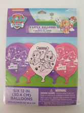 Load image into Gallery viewer, Paw Patrol Skye Balloons - pack of 6