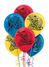 Load image into Gallery viewer, Avengers Balloons - pack of 6