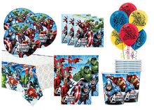 Load image into Gallery viewer, Avengers Party Supplies Tableware for 8 Guests