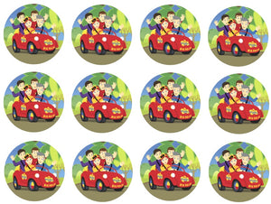The Wiggles Cupcake Toppers
