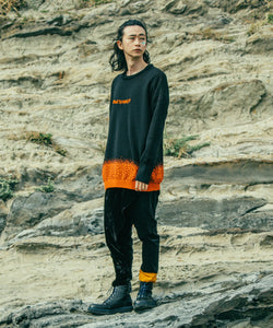 【PANTARHEY】FADEOUT KNIT SWEATER