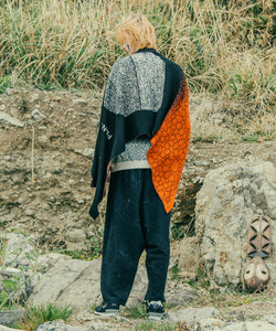 【PANTARHEY】FADEOUT KNIT STOLE
