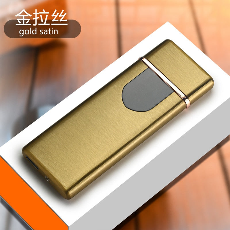 Windproof Electronic USB Cigarette Lighter