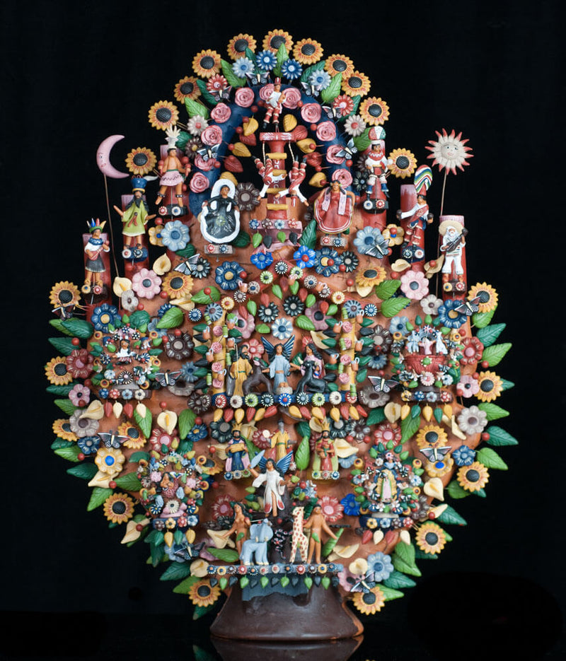 Mexican Tree of Life: Meaning, Origin & Tradition in Metepec.