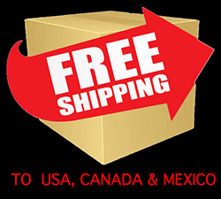 Free Shipping to United States, Canada and Mexico
