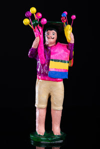 Balloon Seller Clay Figure by Alfonso Soteno