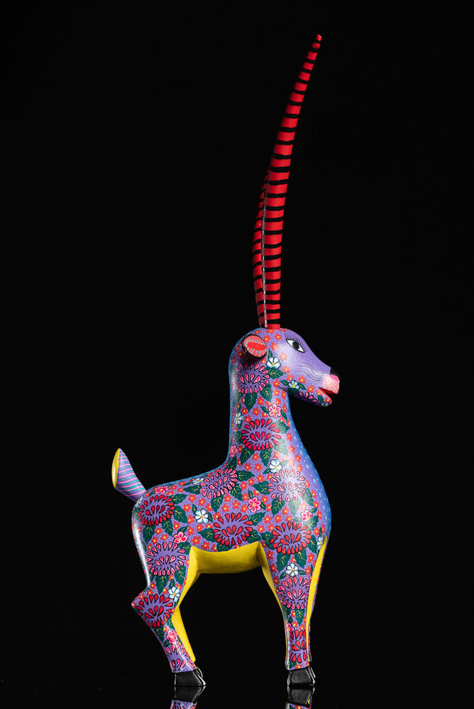 Gazelle Alebrije by Alberto Jimenez facing right