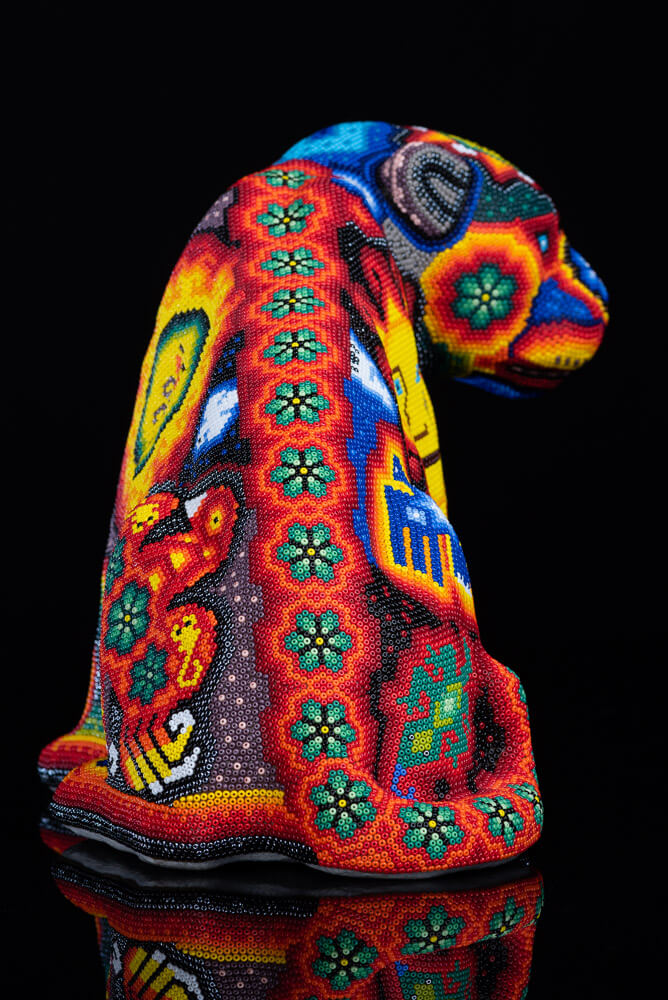 Huichol-Beaded-Jaguar-with-Sacred-Symbols-Crafted-by-Mexican-Indian-Back