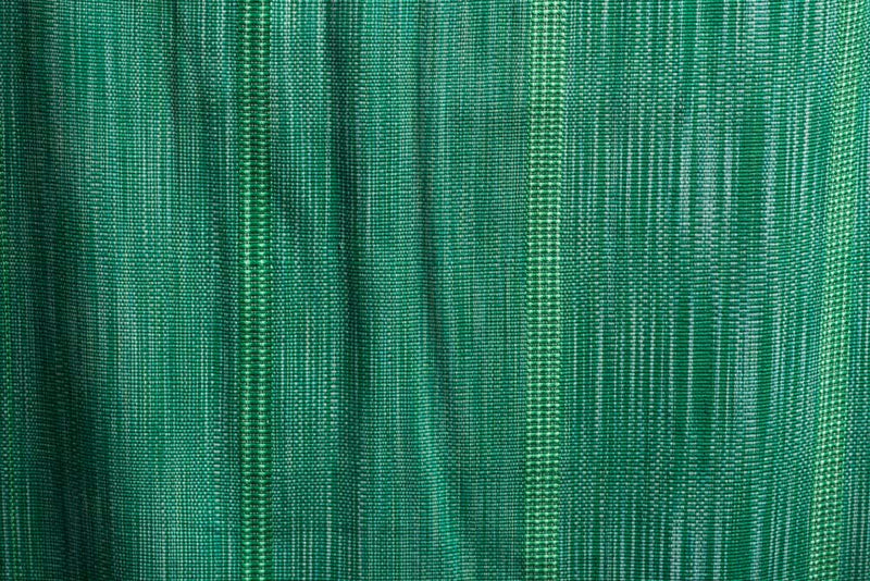 Emerald Green Shawl Runner Fine Mexican Indigenous Textile
