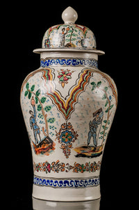 Mexican Talavera Pottery from Puebla  Big Tibor - Urn Vintage design
