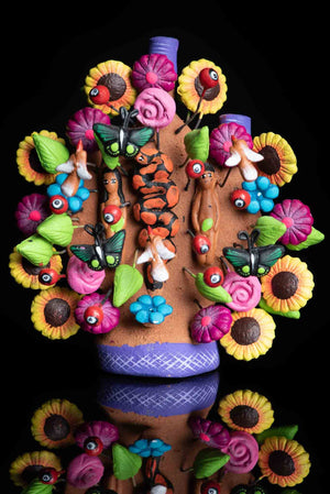 Miniature Mexican Tree Of Life Colorful