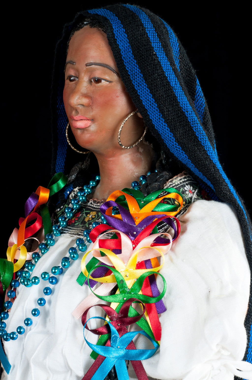 Wax sculpture from Michoacan Mexico