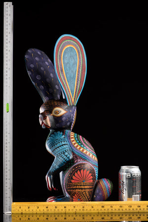 Standing Rabbit Alebrije Oaxacan Wood Carving Rulers