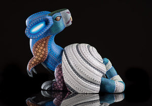 Rabbit Snail Alebrije Oaxacan Wood Carving Right