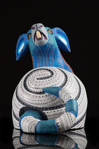 Rabbit Snail Alebrije Oaxacan Wood Carving Tail