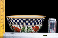 Talavera Bowl vintage design with rulers