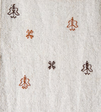 Wool table runner from Puebla Mexico