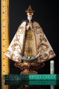 Our lady of San Juan de los Lagos Wood Carving By Cortez Rulers