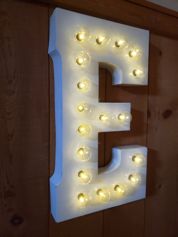 Marquee light rental
