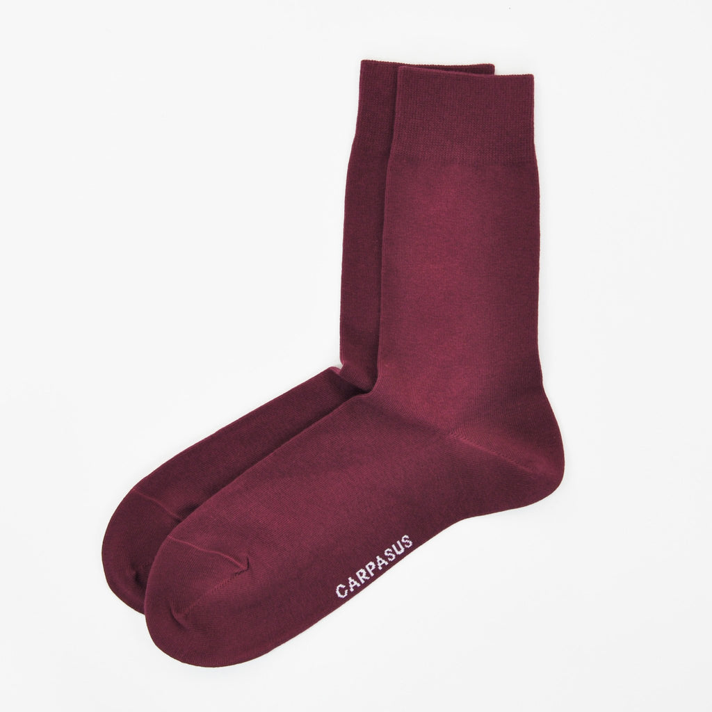 Socks CARPASUS 'Classic' Cherry Red