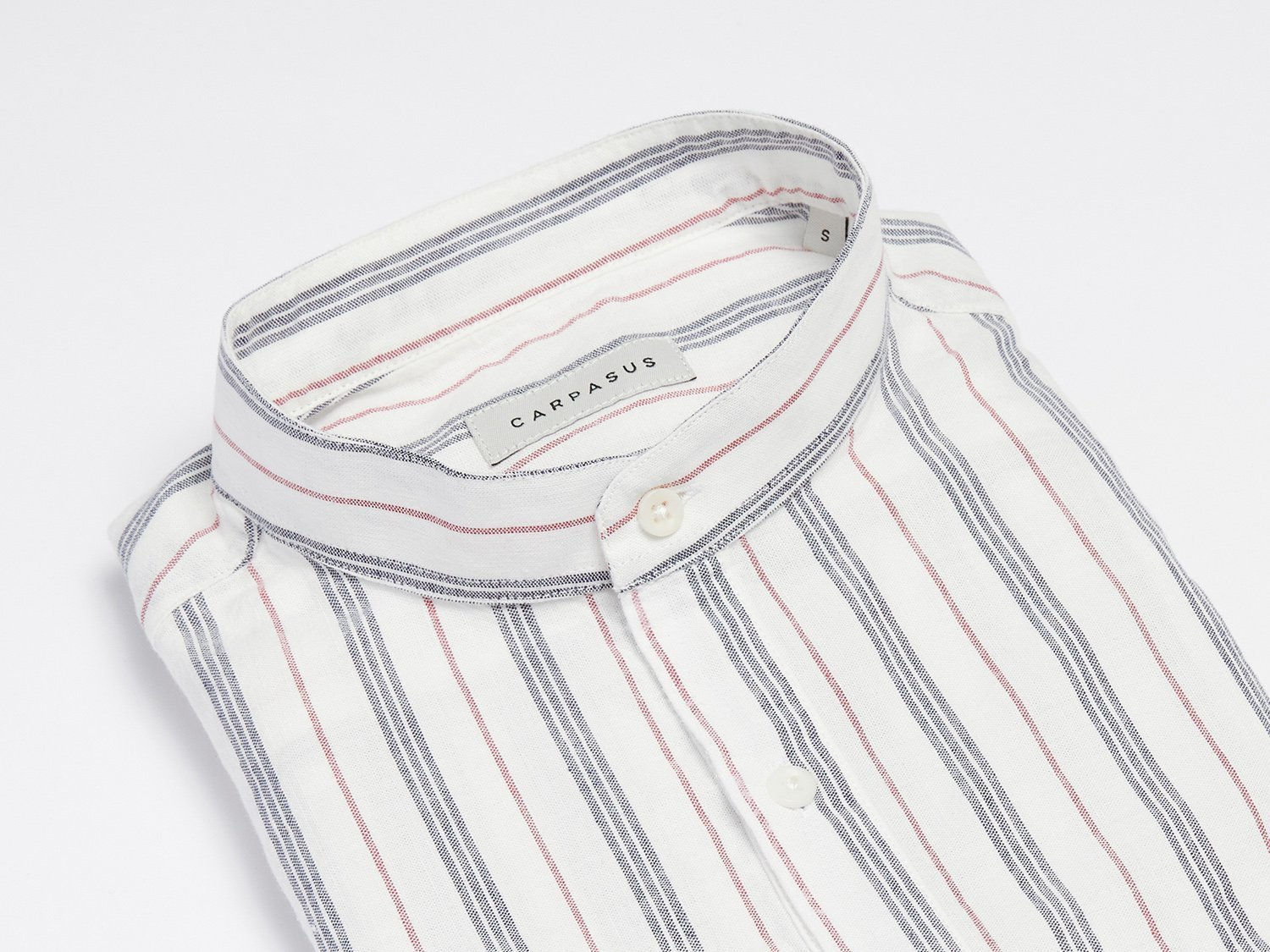 carpasus sustainable organic cotton shirt marzili tricolor blue white red. Nachhaltiges Carpasus Hemd Marzili Tricolor Blau Weiss Rot aus Bio Baumwolle