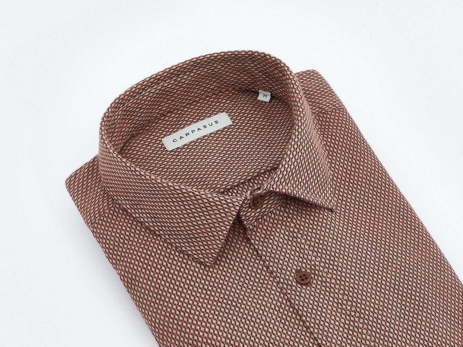 carpasus sustainable organic cotton shirt lynx sand. Nachhaltiges Carpasus Hemd Lynx aus Bio Baumwolle in Sand