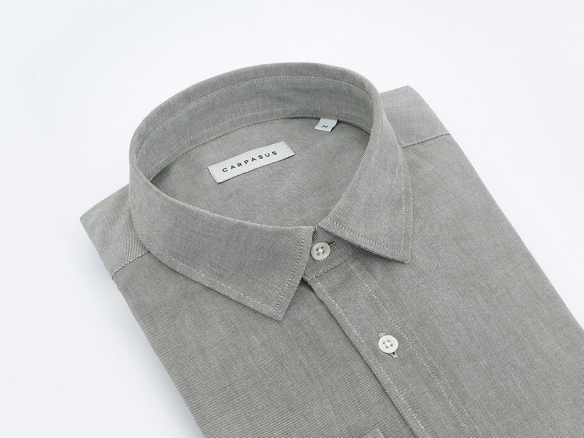 carpasus sustainable organic cotton shirt rivero olive. Nachhaltiges Carpasus Hemd Rivero aus Bio Baumwolle in Olivgrün