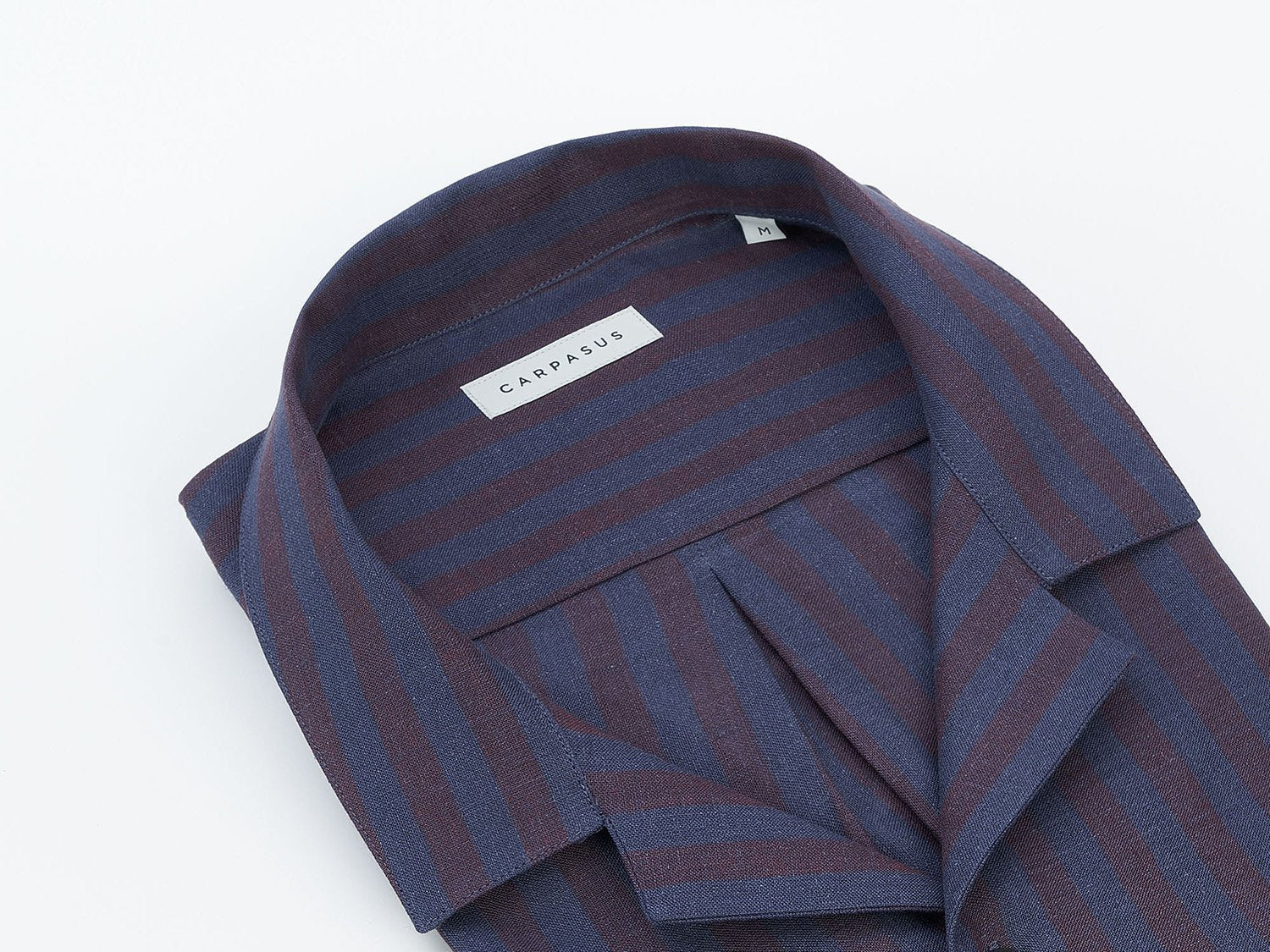 carpasus sustainable organic linen shirt maloja bordeaux. Nachhaltiges Carpasus Hemd Maloja Bordeaux aus Bio Leinen