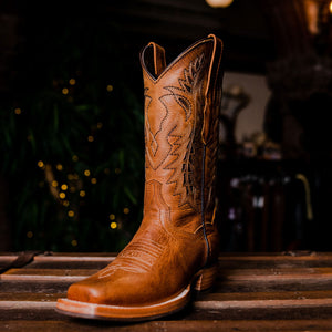 Botas Golden Guns Ranch Tan - Very Vaquero