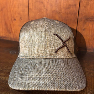 Gorra Twisted X Café Bordado Café - Very Vaquero