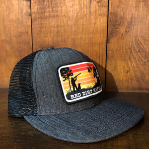 Gorra Red Dirt Gris Parche Hunting - Very Vaquero