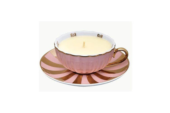 MOR Marshmallow Tea Cup Candle