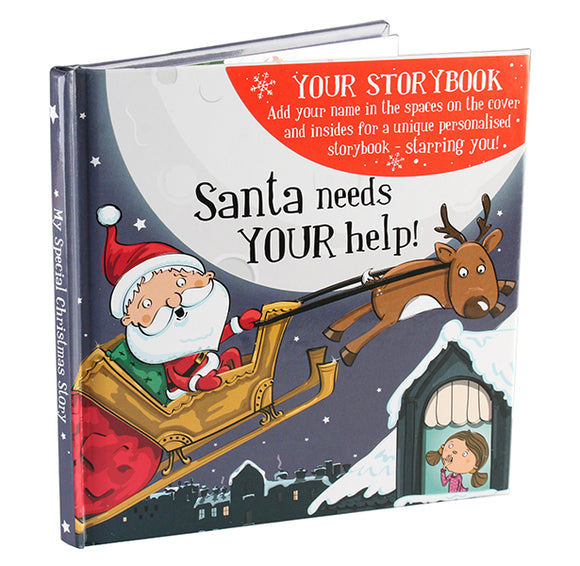 Christmas Storybook - Santa needs your help (Female)