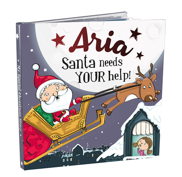 Christmas Storybook - Santa Needs Your Help (Aria)