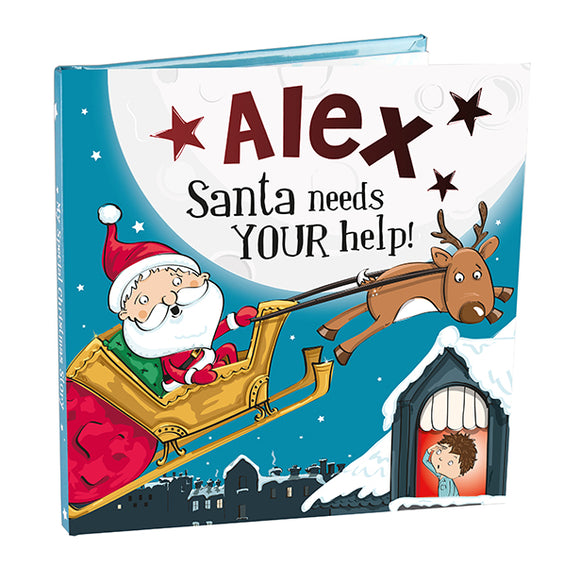 Christmas Storybook - Santa Needs Your Help (Alex)