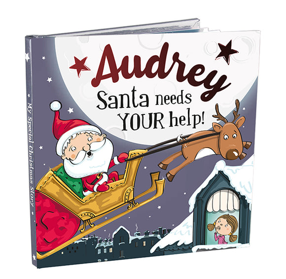 Christmas Storybook - Santa Needs Your Help (Audrey)